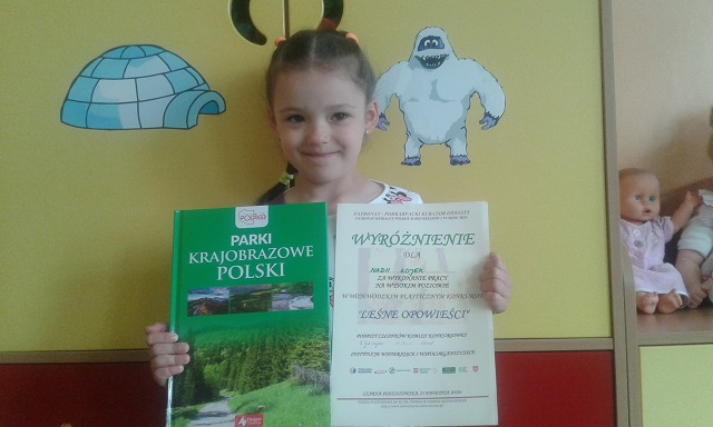 "You are browsing images from the article: Sukcesy plastyczne ""LEŚNE OPOWIEŚCI"" – 25.04.2018"