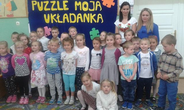"""You are browsing images from the article: Gminny Turniej """"Puzzle -  moją układanką"""" – 26.04.2018"""