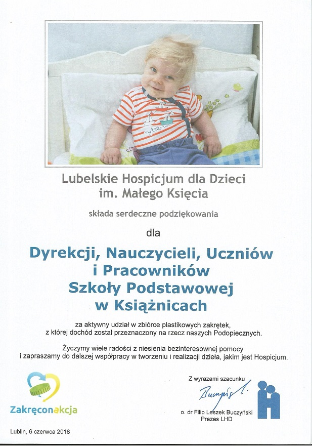 You are browsing images from the article: DZIAŁALNOŚĆ SZKOLNEGO KLUBU WOLONTARIATU W ROKU SZKOLNYM 2017/2018