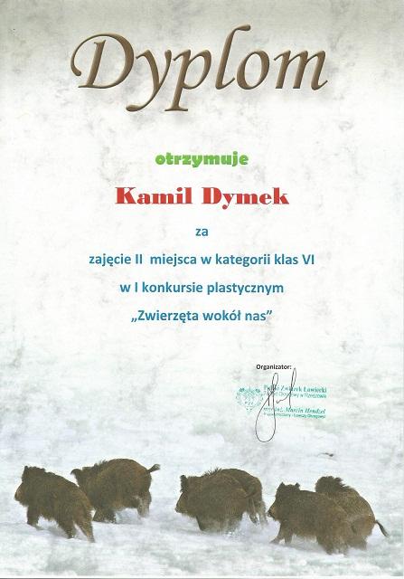 """You are browsing images from the article: Konkurs plastyczny """"Zwierzęta wokół nas"""" – 17.06.2019"""