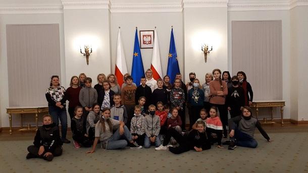 You are browsing images from the article: Wycieczka klas IV-VIII do Warszawy - 21-22.09.2021